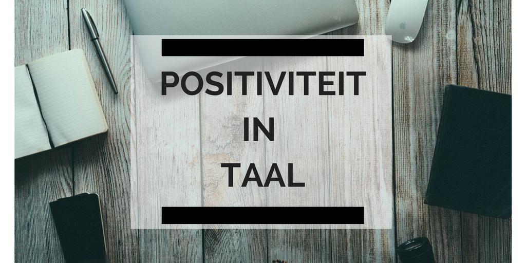 positiviteit-in-taal