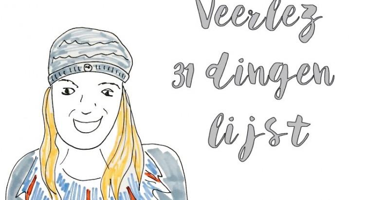 veerlez 31 dingen lijst challenge update
