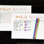 Habit Tracker + printable