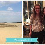 Weekoverzicht #11: vakanties plannen & helden ontmoeten