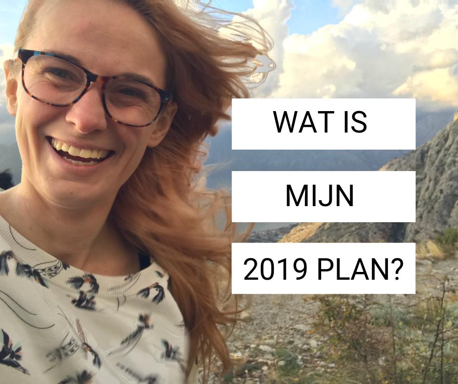 Wat is mijn 2019 plan?