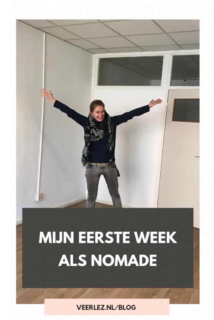 Mijn eerste week als nomade