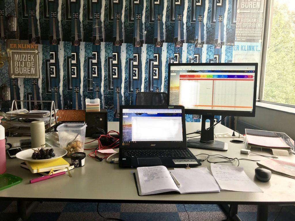 rooster maken op kantoor