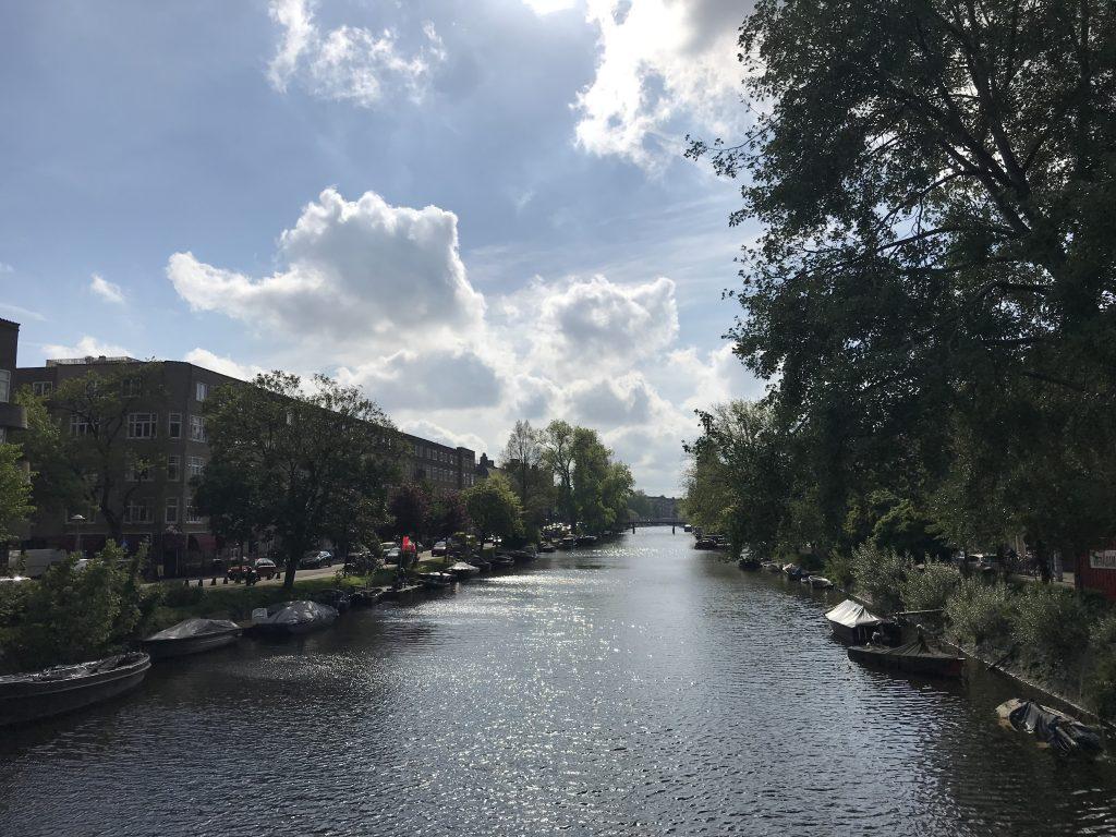 uitzicht in Amsterdam