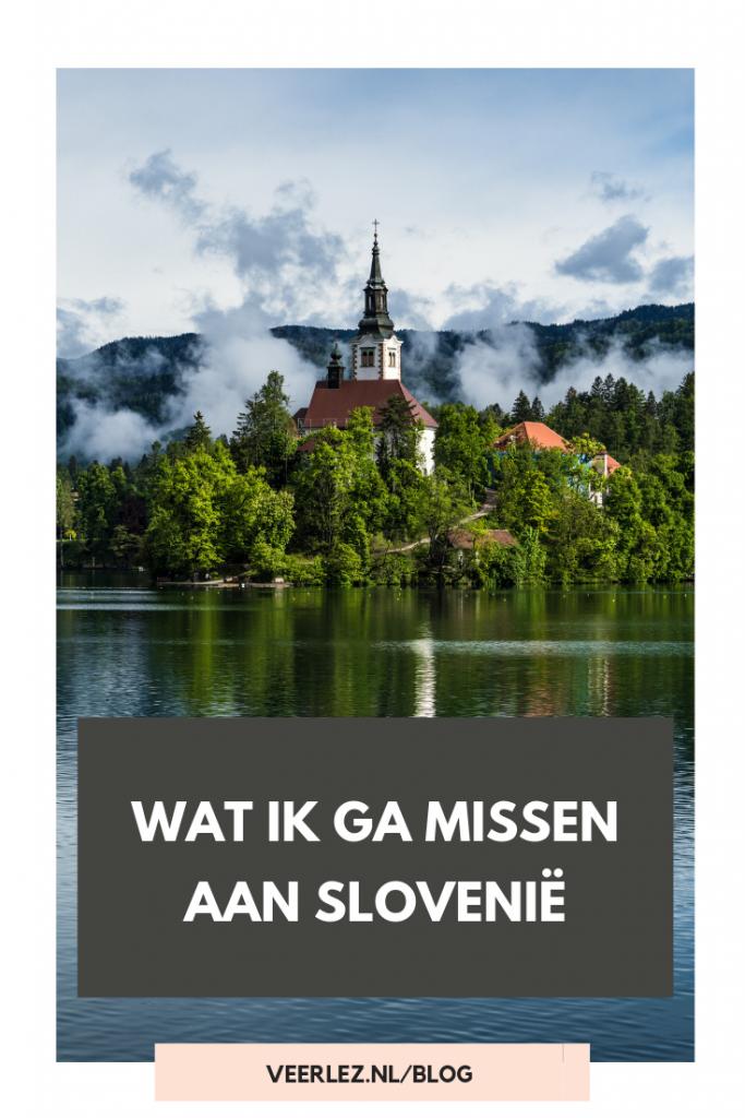 Wat ik ga missen aan Slovenië