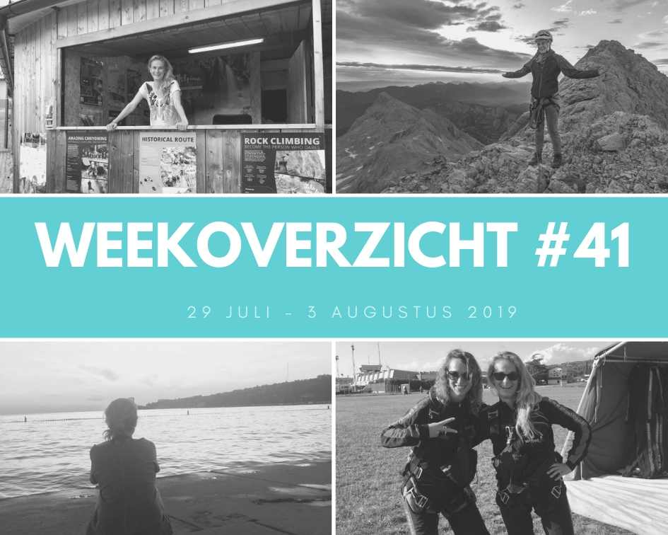 Weekoverzicht #41: liften en skydiven!