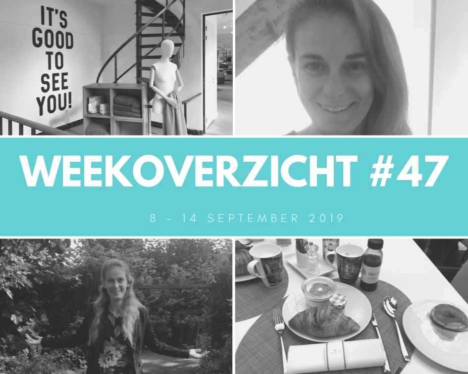 Weekoverzicht #47: een festival en een bruiloft!