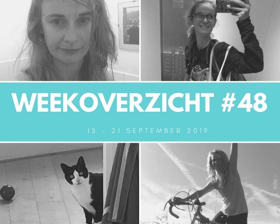 Weekoverzicht #48: Uitrusten, katten en 60km fietsen!