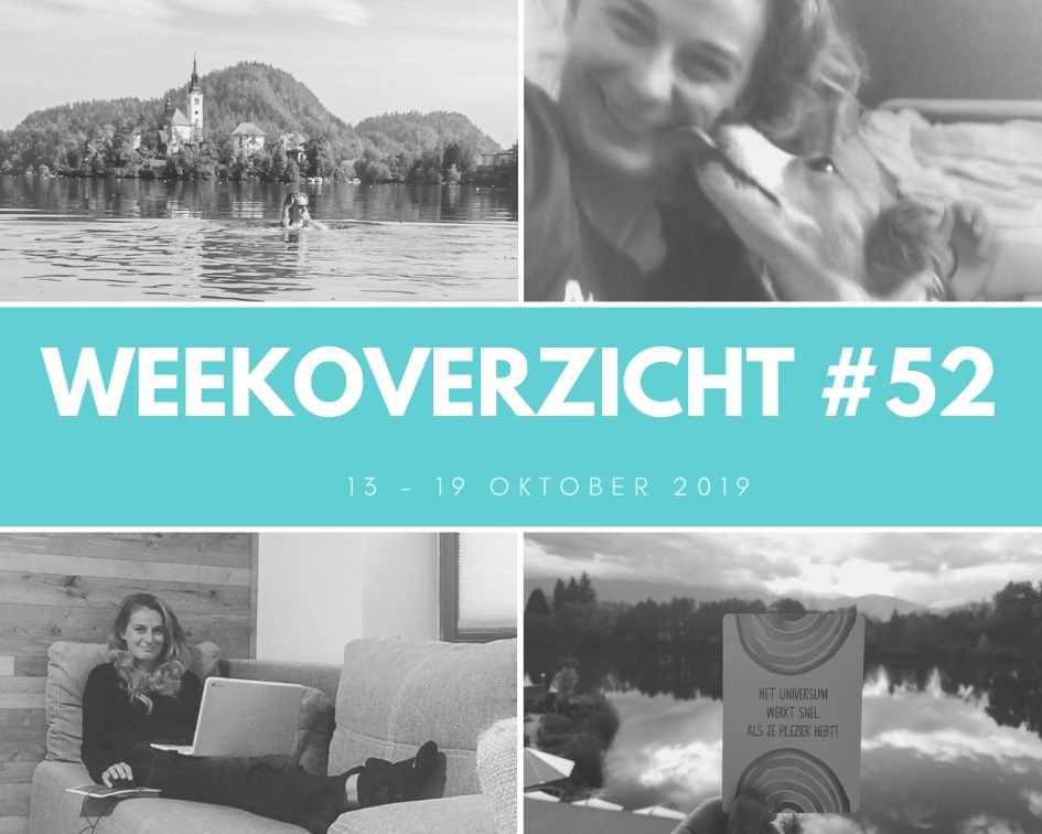Weekoverzicht #52: jarig en weer onderweg